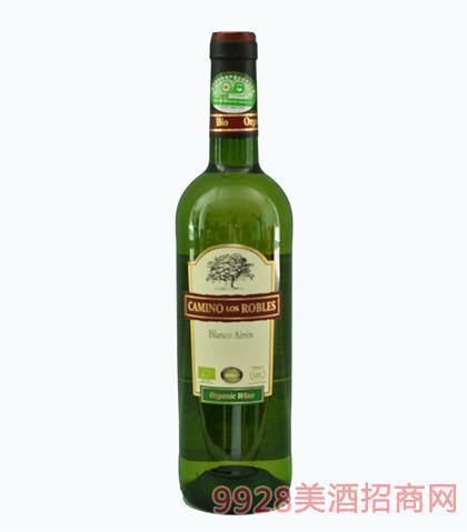 卡米诺洛斯有机干白葡萄酒750ml