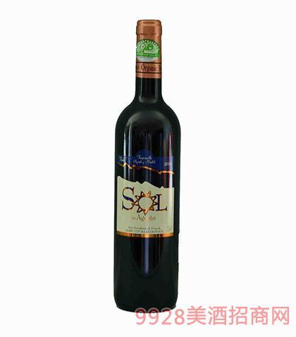 索尔有机干红葡萄酒750ml