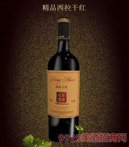 叶浓庄园精品西拉干红葡萄酒750ml