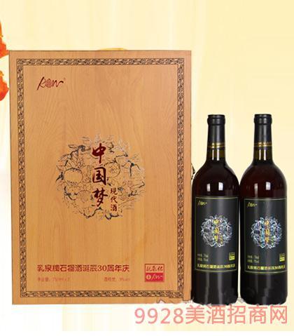 中国梦乳泉石榴酒9度750ml