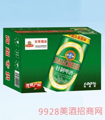 百奥特制啤酒500mlx12