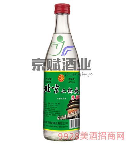 北京二锅头陈酿酒牛洱泉42度500ml浓香型