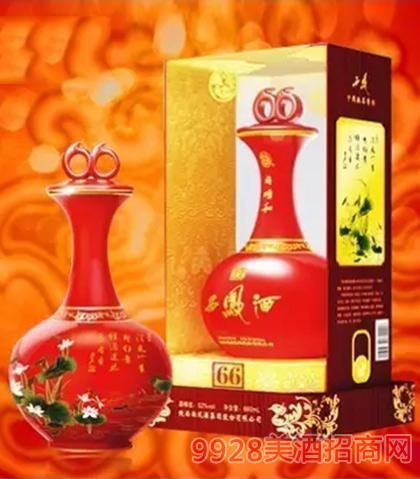 同顺和西凤酒至尊中国红瓷45度52度500ml660ml