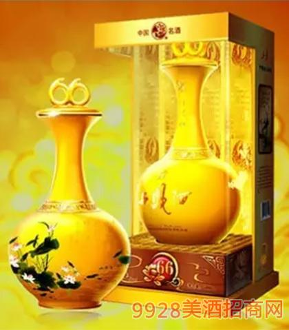 同顺和西凤酒帝王黄瓷(黄金玉)45度52度500ml