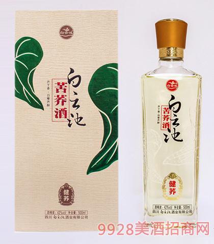 白云池苦荞酒健荞42度500ml芦丁香型白藜芦醇