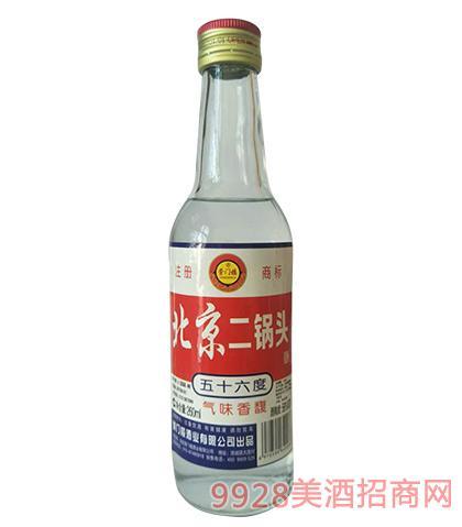 崇门楼北京二锅头酒56度260mlx20瓶