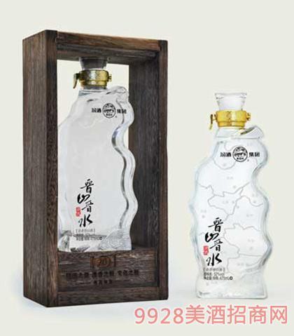 汾酒集团晋山晋水原酒(白瓶)52度475ml清香型白酒
