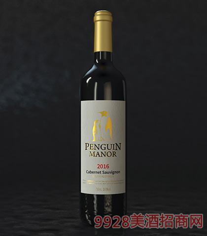 澳大利亚企鹅庄园南澳赤霞珠干红葡萄酒14度750ml