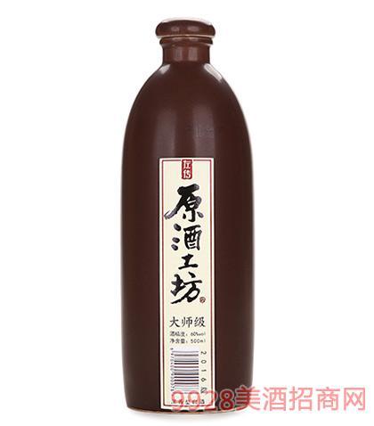 左传原酒工坊酒大师(棕瓶)60度500ml浓香型