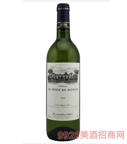 法国波尔多嘉和庄园白葡萄酒12.5度