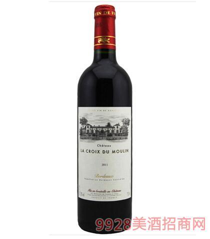 法国波尔多嘉和庄园红葡萄酒12.5度