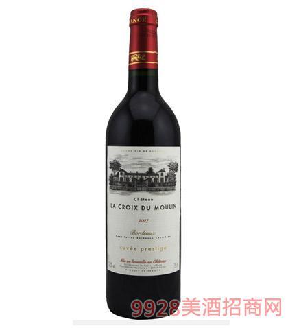 法国波尔多嘉和庄园珍藏红葡萄酒12度