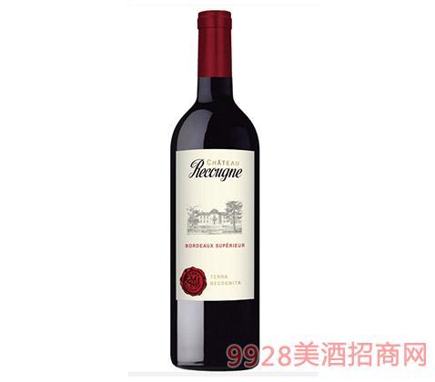 法国波尔多红葡萄酒14度