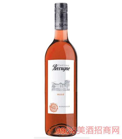 法国波尔多桃红葡萄酒13.5度