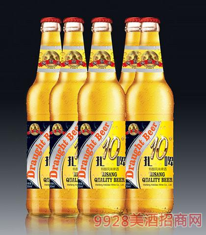 特醇风味啤酒10度扎啤