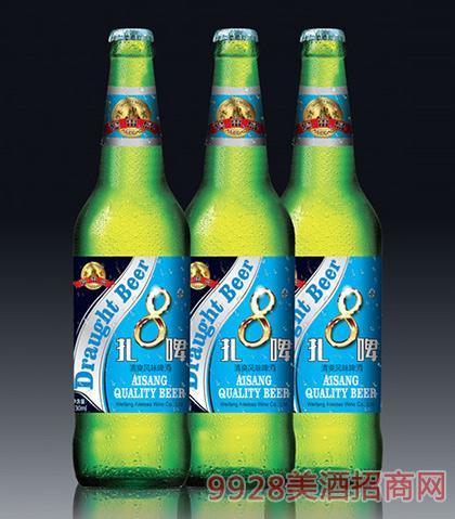 清爽风味啤酒8度扎啤