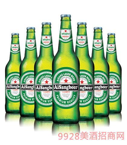 爱尚精酿啤酒(绿瓶)瓶装啤酒_青岛尚谷世纪酒业有限_.