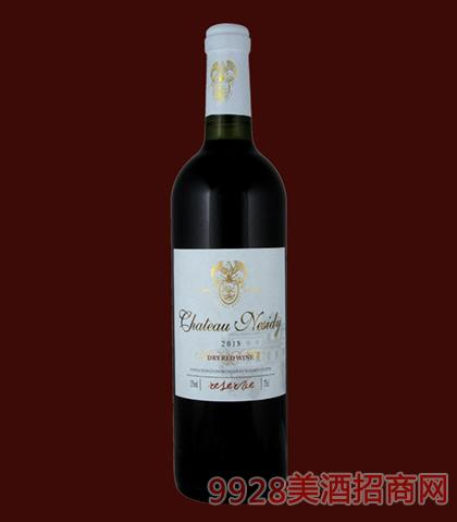 法国原酒-尼斯蒂庄园2013珍藏赤霞珠干红葡萄酒750ml