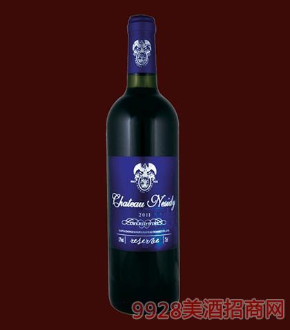 法国原酒-尼斯蒂庄园2011珍藏黑比诺干红葡萄酒750ml