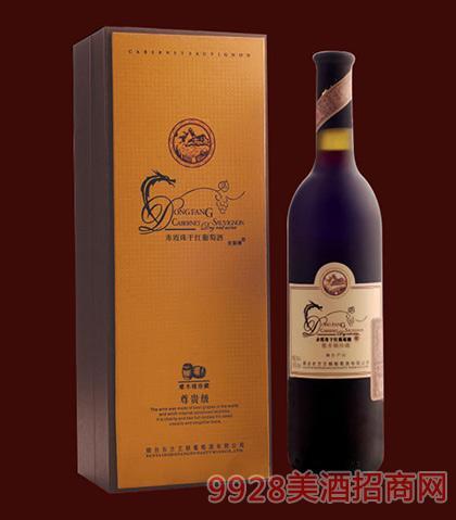 尼斯蒂尊贵橡木桶珍藏干红葡萄酒单支礼盒750ml
