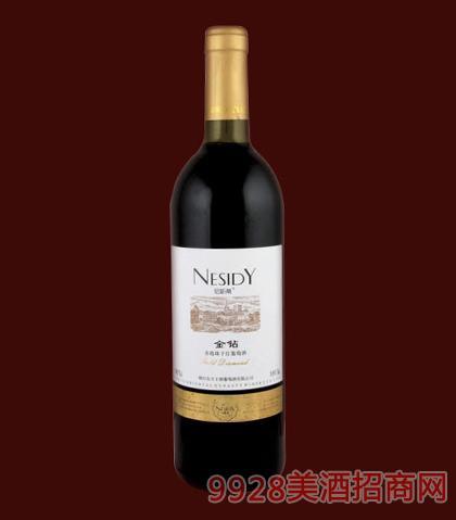 尼斯蒂金钻赤霞珠干红葡萄酒750ml
