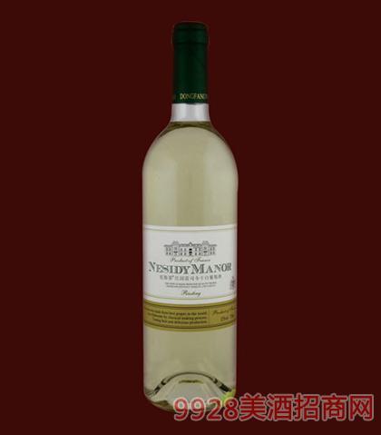 尼斯蒂庄园雷干白葡萄酒750ml