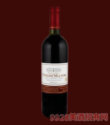 尼斯蒂庄园橡木桶干红葡萄酒750ml