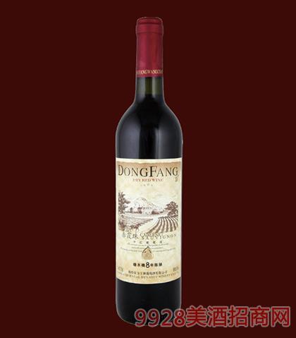 东方橡木桶8年陈酿干红葡萄酒750ml