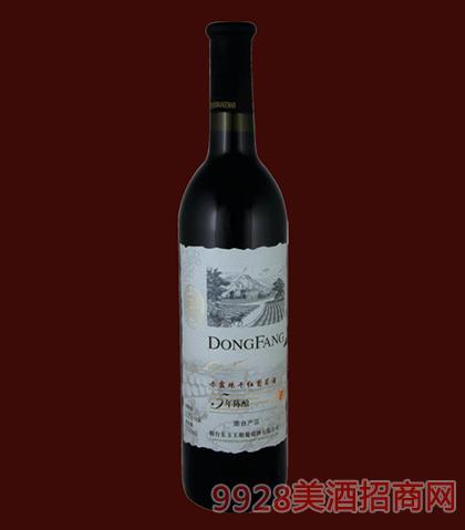 东方5年陈酿赤霞珠干红葡萄酒750ml