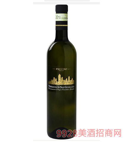 意大利托斯卡纳维奈西卡白葡萄酒12度