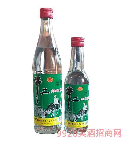 牛二郎陈酿白酒500ml 250ml
