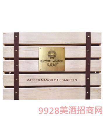 玛泽尔葡萄酒包装六支装单层木盒