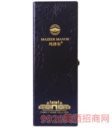 玛泽尔葡萄酒包装单支皮盒