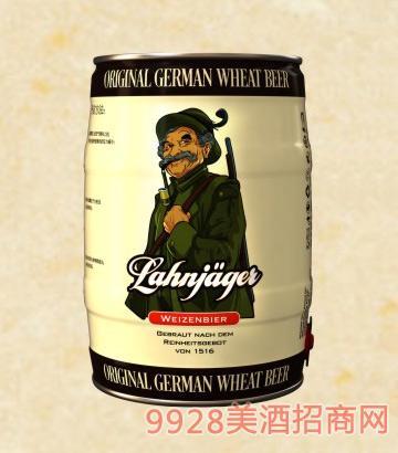 莱恩猎人小麦白啤酒桶装啤酒12°P5L