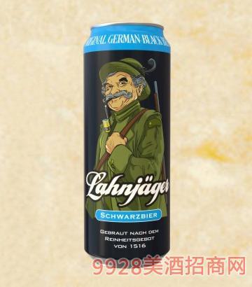 莱恩猎人黑啤酒罐装啤酒11°500ml