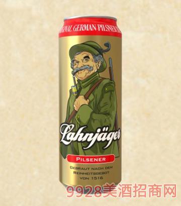 莱恩猎人皮尔森啤酒罐装啤酒11°P500ml