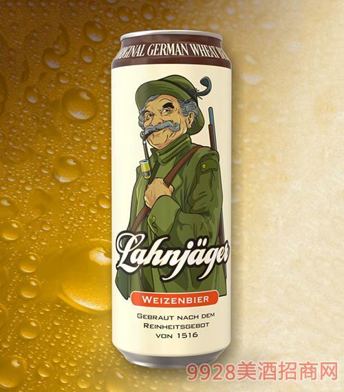 莱恩猎人小麦白啤酒罐装啤酒12°P500ml
