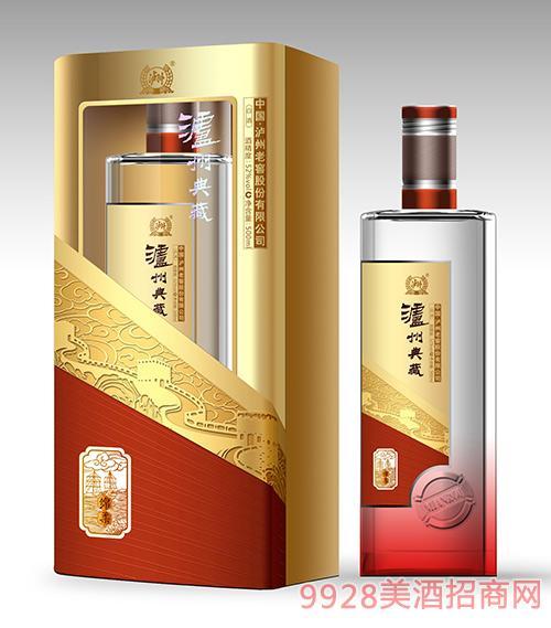 泸州典藏酒绵柔52度500ml浓香型白酒泸州白酒