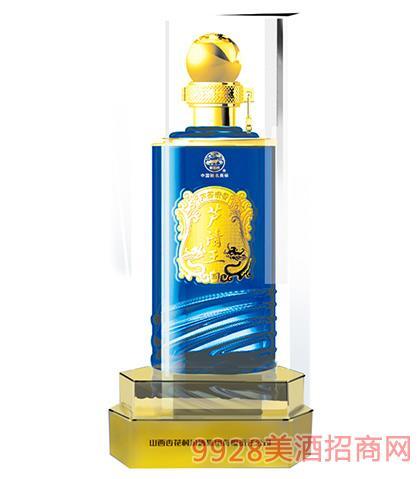 汾酒集团芦清王酒露酒蓝水晶42度、45度475ml芦荟清香