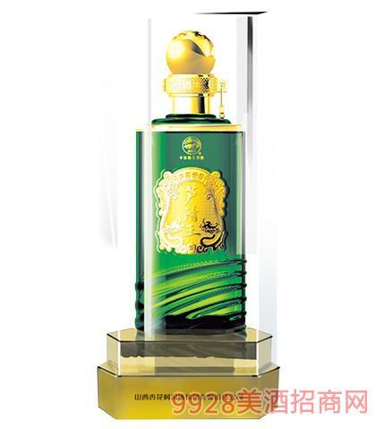 汾酒集团芦清王酒露酒绿水晶42度、45度475ml芦荟清香