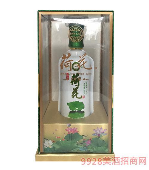 世纪缘6A荷花酒42度500ml浓香型白酒洋河镇白酒