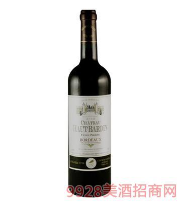 法国奥巴干红葡萄酒750ml
