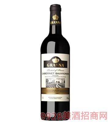 法国卡纳赤霞珠干红葡萄酒750ml