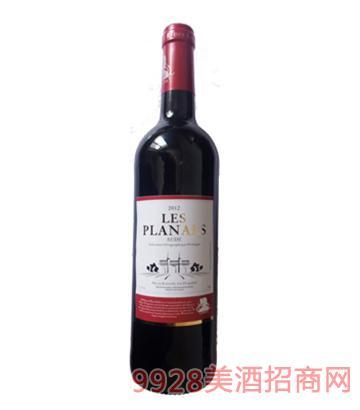 法国罗兰干红葡萄酒750ml
