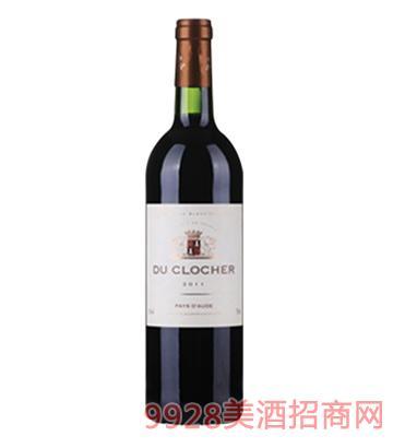 法国教堂干红葡萄酒750ml