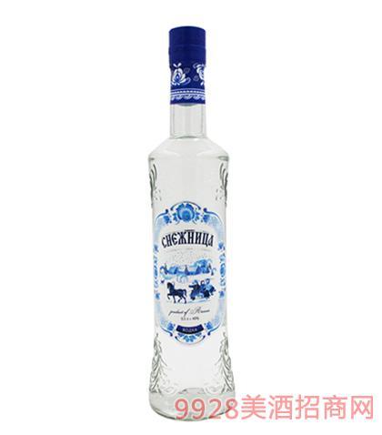 俄罗斯雪水伏特加40度500ml