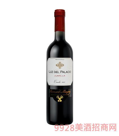 西班牙帕拉红葡萄酒14.5度750ml