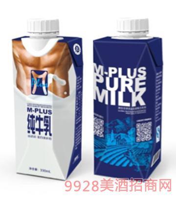 m-plus纯牛乳
