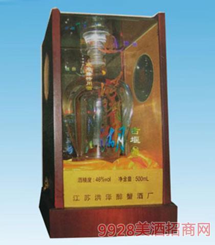 洪泽湖古堰酒46度500ml浓香型
