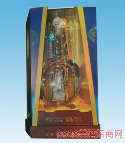 洪泽湖一帆风顺酒42度500ml浓香型